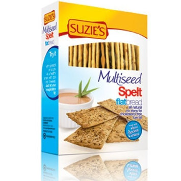 Suzies Suzie's Spelt Flatbread, Multiseed, 4.5-Ounce Box (Pack of 12)