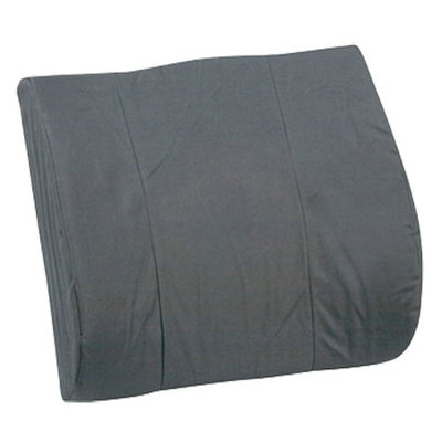 Mabis Standard Lumbar Cushion with Strap - Gray