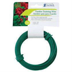 Woodstream Cal Plastics D Heavy Coated Wire Green 50 Foot T025