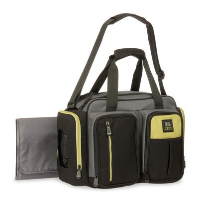 Baby Boom Quick Find Duffle Diaper Bag & Changing Pad - STEVENS BABY BOOM LTD.