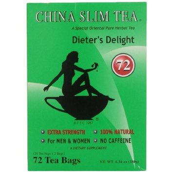 China Slim Dieter's Tea Delight, Large, 72-Count