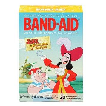 Band-Aid - Children's Adhesive Bandages, Jake & the Neverland Pirates, 20 ea