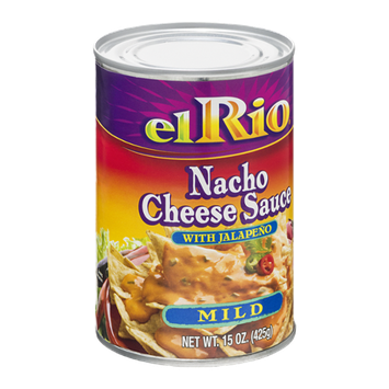 El Rio Nacho Cheese Sauce with Jalapeno Mild