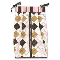 Trend Lab Diaper Stacker, Prep School Pink