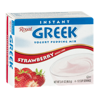 Royal Instant Greek Yogurt Pudding Mix Strawberry