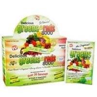 Greens World Inc. Delicious Greens&Reds To Go 24 Pkt