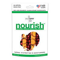 Isle of Dogs 2-Ounce Nourish Freeze-Dried Dog Treats - Turkey, Cranberries & Sweet Potato (Natural)