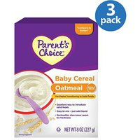 Parent's Choice Oatmeal Cereal