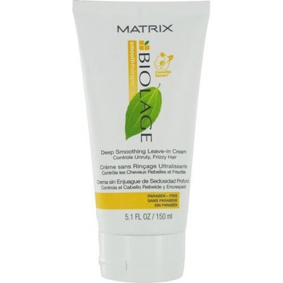 Matrix Biolage Smooththerapie Deep Smoothing Leave-In Cream, 5.1 Ounce