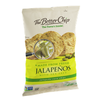 The Better Chip Jalapenos with Sea Salt Corn Chips