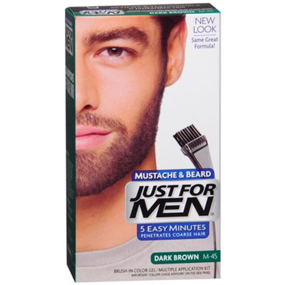 Just for Men Mustache and Beard Hair Color - Dark Brown