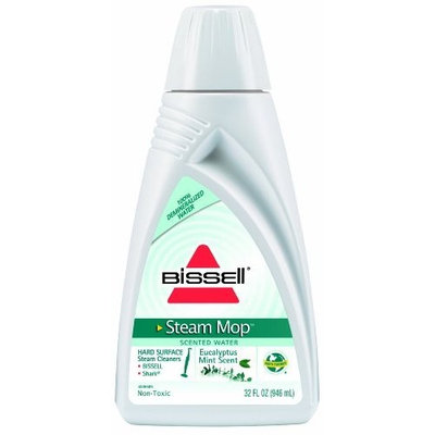 BISSELL Eucalyptus Mint Scented Demineralized Steam Mop Water, 32 ounces, 59V4