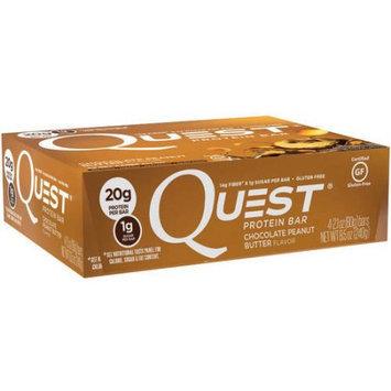 Quest Nutrition Quest Chocolate Peanut Butter Flavor Protein Bars, 2.1 oz, 4 count