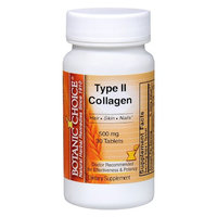Botanic Choice Type II Collagen 500 mg Dietary Supplement Tablets