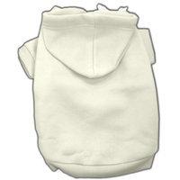 Mirage Dog Supplies Blank Hoodies Cream Xl (16)