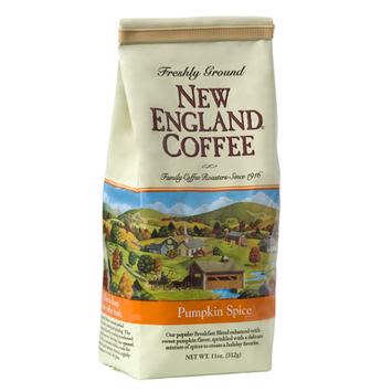 New England Coffee Pumpkin Spice Freshly Ground Coffee