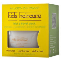 Mixed Chicks MIXED CHICKS Kids Haircare Trial & Travel Pack - 2fl oz