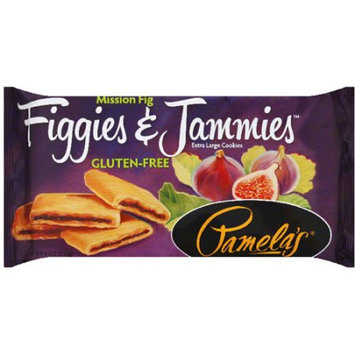 Pamela's Figgies & Jammies Mission Fig Extra Large Cookies, 9 oz, (Pack of 6)