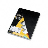 Fellowes Executive Black Oversize Binding Covers, 50 Pack