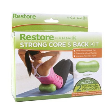 Gaiam Restore Strong Core & Back Kit