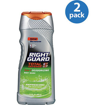 Right Guard Total Defense 5 Refreshing Body Wash With Electrolytes