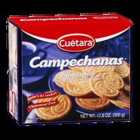 Cuetara Campechanas Palmeritas Crisp Palm Leaf Cookies