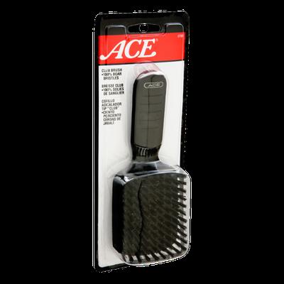 Ace 100% Boar Bristles Club Brush