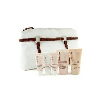 Differently Travel Set: Elixir + Eye Cream + SKincare Brush + Night Cream + Body Cream + Bag - Lancaster - Travel Set - 5pcs+1bag