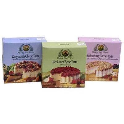 Cheese Tortas By Rising Sun Farm - KeyLime (9.5 ounce)
