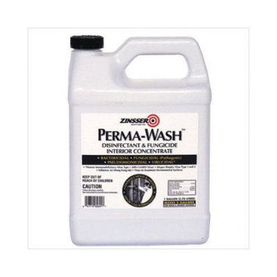 Zinsser & Co Zinsser - Perma-Wash Disinfectant and Fungicide Interior Concentrates Perma-Wash Int Disinfectant/Fungicide 1 gal.: 647-60601 - perma-wash int disinfectant/fungicide 1 gal.