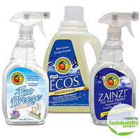 Earth Friendly Products Laundry Detergent, Stain Remover and Fabric Refresher