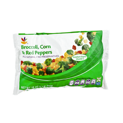 Ahold Broccoli, Corn & Red Peppers