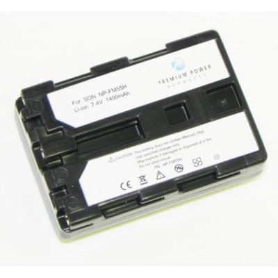 Premium Power Products Premium Power NP-FM55H Compatible Battery 1400 Mah Np-Fm55H for use with Sony Digital Cameras
