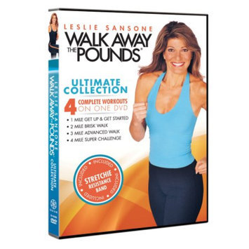 Gaiam Leslie Sansone: Walk Away The Pounds Ultimate Collection DVDs, 1 ea