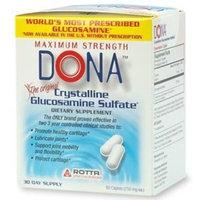 DONA Crystalline Glucosamine Sulfate 60 caplets (Quantity of 1)