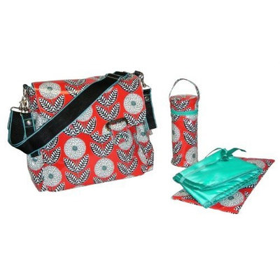 Kalencom Ozz Coated New Flap Bag, Zinnia (Discontinued by Manufacturer)