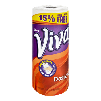 Viva Designs White Paper Towels