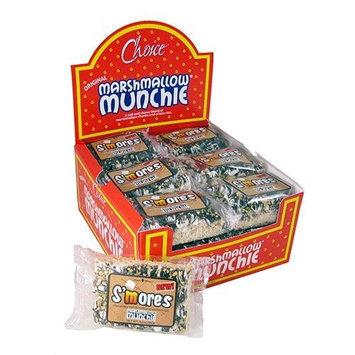 Angela Maries 6005 S'mores Marshallow Munchie Rice Crispy Square - 18 pack