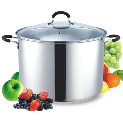 Cook N Home 18.5-Quart Stainless Steel Canning/Stock Pot