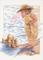 Dimensions Sandcastle Dreams Counted Cross Stitch Kit