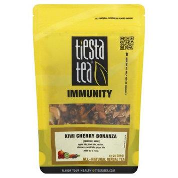 Tiesta Tea 2 oz. Immunity Herbal Tea - Kiwi Cherry Bonanza Case Of 6
