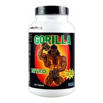 Vitol Gorilla Nitro Tabs - 120 Tabs