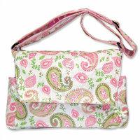 Trend Lab Paisley Park Messenger Diaper Bag