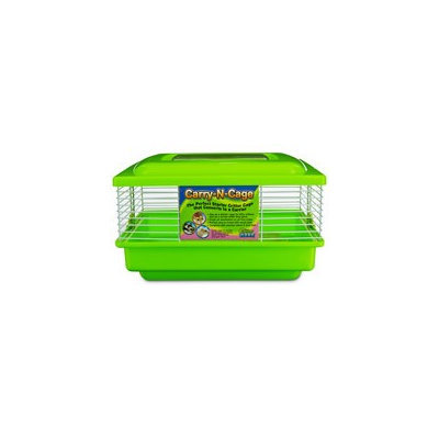 WARE Green Carry-N-Cage Small Animal Habitat, 11 L X 9 W X 7 H