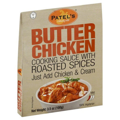 Patel 221242 Butter Chicken Cooking Sauce With Roasted Spices - 3.53 oz.