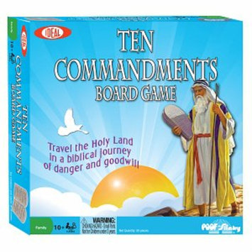 Poof-Slinky Inc Ten Commandments Bible Game Ages 10+, 1 ea