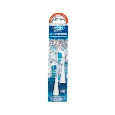 Crest Pro Whitening SpinBrush Toothbrush Refill, Medium (2 Refill Heads)
