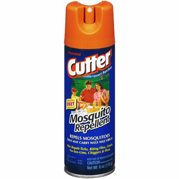 Cutter Contains Deet Unscented Mosquito Repellent