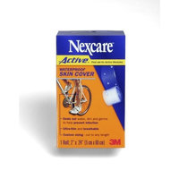 Nexcare Active Waterproof Skin Cover, 2-Inch x 24-Inch Roll (Pack of 4)