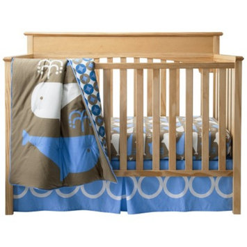 Room 365 Whales 3pc Crib Bedding Set